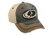 Mossy Oak Logo Distressed Hat