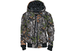 Youth Insulated Fleece Hooded Jacket Realtree Xtra SIZE :Xsmall