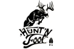 Hunt'n Fool Whitetail Decal 6x4