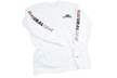 Long Sleeve Logo Tshirt White Large