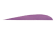 "Trueflight Purple 2 1/2"" Rw Feathers"