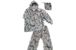 Suit 3d Natural Camo Small/ Medium