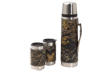 Leather Vacuum Bottle & Mug Set Breakup Camo