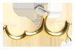 Longhorn Pro Release 3-finger Brass
