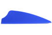 "Norway 3"" Blue Fusion Vanes 100 pack"