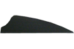 "Norway 3"" Black Fusion Vanes 100 pack"