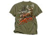 Country Man Survive Olive Tshirt Adult 2xlarge