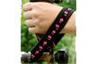 Outdoor Wrist Strap Pink Deer Track