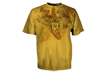 Bone Collector Tshirt Mustard 2xlarge