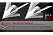 Exodus 100gr Fixed Blade Broadhead Barbed Swept