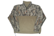 Hybrid 1/2 Zip Fleece Jacket Natural Camo Large