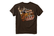 Quality Time Tshirt Dark Chocolate Large