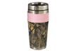 Leather Travel Mug Breakup Camo W/pink