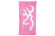 Browning Beach Towel Pink/white