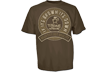 T-bone Brown Its Down Short Sleeve Tshirt Coffee 2xlarge