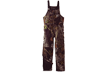 Bib Overalls Insulated Short Mossy Oak Infinity Large