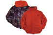 Reversible Jacket W/zip Off Sleeve Rtap/blaze Fleece Xl