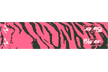 "Blazer Carbon Wrap 4"" Pink & Black Tiger"