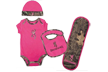 Baby Browning Camo Set Breakup Infinity W/fuchsia 6 Months