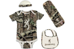 Baby Browning Camo Set Breakup Infinity W/tan Newborn
