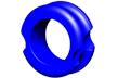 "G5 Meta Peep Magnum Hunter 5/16"" Blue"
