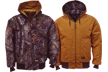 Insulated Reversible Hooded Jkt Realtree Xtra To Canvas Large