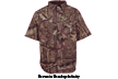 Mossy Oak Cape Bck Short Sleeve Shirt Mossy Oak Obsession M