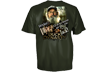 Duck Dynasty True Jack S/s Tshirt Hunter Green Large