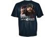 Duck Dynasty No Rules S/s Tshirt Harbor Blue Xlarge