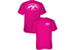 Duck Commander Logo S/s Tshirt Pink Small