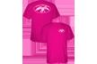 Duck Commander Logo S/s Tshirt Pink Xlarge