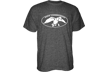 Duck Commander Logo S/s Tshirt Charcoal Heather Large