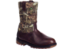 Outdoor Ride Pullon Rock Boot Brown/mossyoak Infinity Size 8